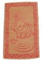 Dětský ručník Slůně růžové