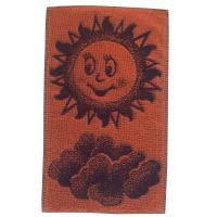 Dětský ručník Sluníčko oranžovomodré