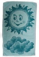 Dětský ručník Sluníčko zelené