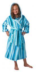 Dětský župan s kapucí Vestis 9156 Rimini modrý
