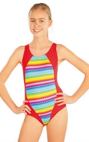 Dívčí jednodílné sportovní plavky Litex 52612