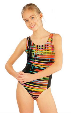 Dívčí jednodílné sportovní plavky Litex 52625