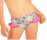 Dívčí plavkové kalhotky bokové Litex 52567