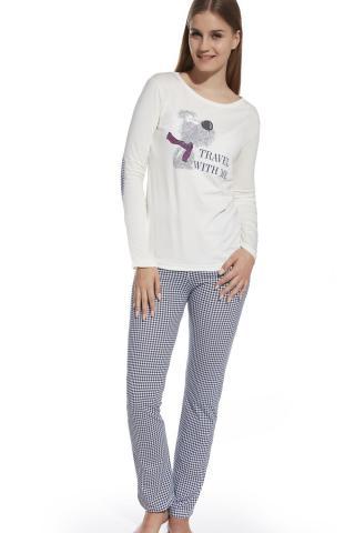 Dívčí pyžamo Cornette 552/25 Travel ecru