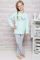 Dívčí pyžamo Taro 690 mint