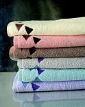 Froté ručník Terry 500 g/m2 Trojúhelníky