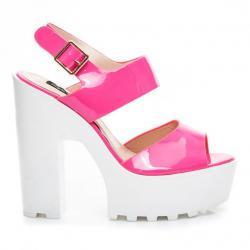 Dámské fuchsiové sandály Sergio Todzi RMD1271F