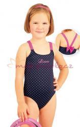 Jednodílné dívčí plavky Litex 88462