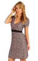 Litex 50321 Šaty dámské s krátkým rukávem