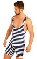 Pánské retro plavky s kšandami Litex 52668