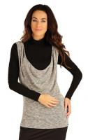 Dámská vesta dlouhá Litex 55066