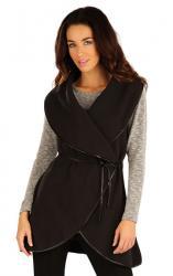 Dámská fleecová vesta dlouhá Litex 55206