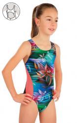 Dívčí jednodílné sportovní plavky  Litex 57588