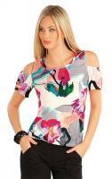 Dámské tričko s krátkým rukávem Litex 58017