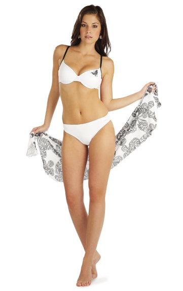 ad1625933e3 Litex 71550 Plážový šátek na zavazování - Litex (Doplňky k plavkám ...
