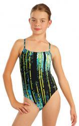 Dívčí jednodílné sportovní plavky Litex 76623