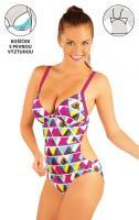 Litex 88128 Jednodílné plavky s košíčky
