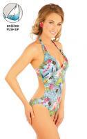 Litex 88198 Jednodílné plavky s košíčky push-up