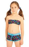 Litex 88484 Dívčí plav.podprsenka BANDEAU bez výztuž