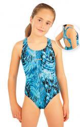 Litex 88506 Dívčí jednodílné sportovní plavky
