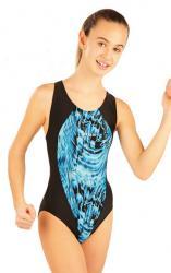 Litex 88507 Dívčí jednodílné sportovní plavky
