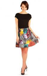 Litex 89324 Šaty dámské s krátkým rukávem