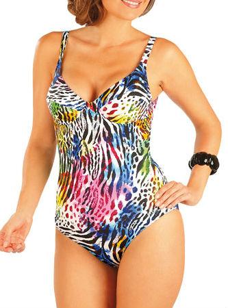 Litex 93200 Jednodílné plavky s kosticemi - Litex (Jednodílné plavky ... 2a0cf11717