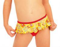 Litex 93569 Dívčí plavky kalhotky bokové