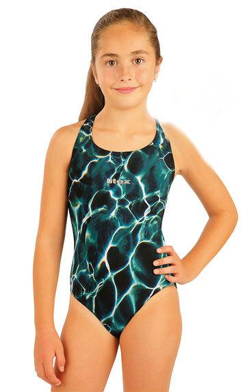 e294a16072cd Litex 93595 Dívčí jednodílné sportovní plavky - Litex (plavky ...