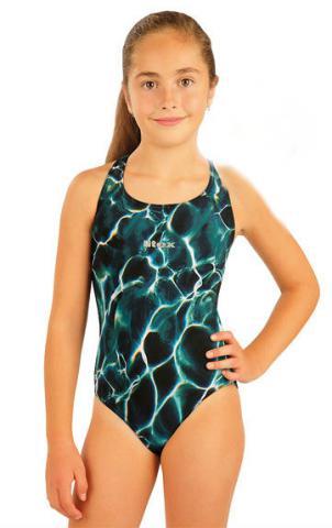 Litex 93595 Dívčí jednodílné sportovní plavky
