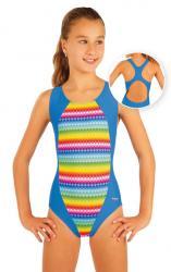Litex 93597 Dívčí jednodílné sportovní plavky