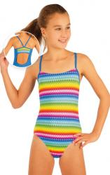 Litex 93598 Dívčí jednodílné sportovní plavky
