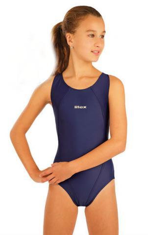 Litex 93599 Dívčí jednodílné sportovní plavky