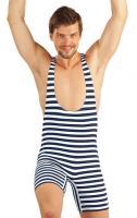 Litex 93656 Pánské retro plavky s kšandami