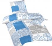 Ložní povlečení bavlna DADKA Bluemoon modrý