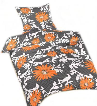 Ložní povlečení bavlna DADKA Lola oranžová