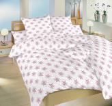 Ložní povlečení bavlna DADKA Mašličky růžové