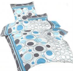 Ložní povlečení bavlna DADKA Vesmír modrý