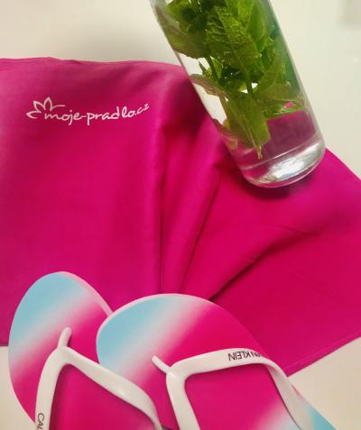 Mikrovláknový ručník 50x100 růžový