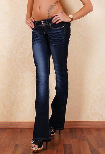 7e321344745 Moderní dámské rifle Bt jeans s-ri75 - BT jeans (Akce a slevy)