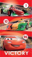 Osuška Cars red 2016 70x140 cm