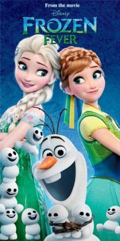 Osuška Frozen fever 70x140 cm