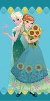 Osuška Frozen Flower 70x140 cm