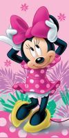 Osuška Minnie pink 02 70x140 cm