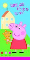Osuška Peppa Pig 009 - 70x140 cm