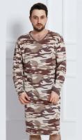 Pánská noční košile s dlouhým rukávem Vienetta Secret Army
