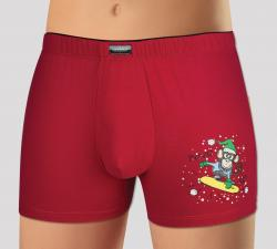 Pánské boxerky Andrie 5175 Vánoce