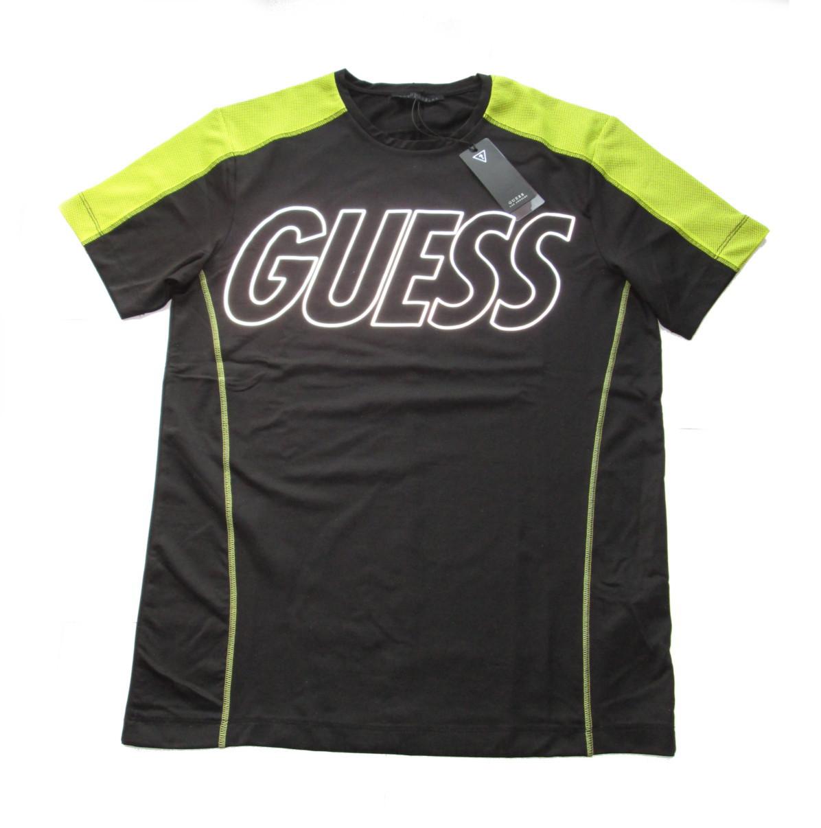 Pánské funkční triko Guess U64A04 - GUESS (Akce a slevy) 94d23a1593e