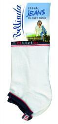 Pánské ponožky Bellinda 497552 JEANS IN SHOE SOCKS