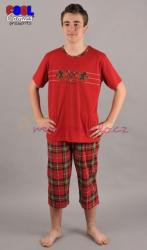 Pánské pyžamo kapri Vienetta Secret Koníci výprodej